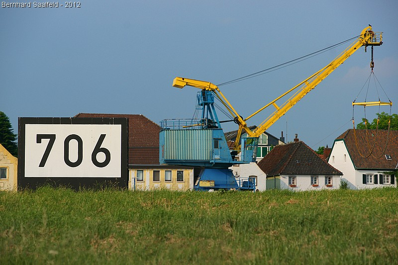 Stromkilometer 706 - Bernhard Saalfeld