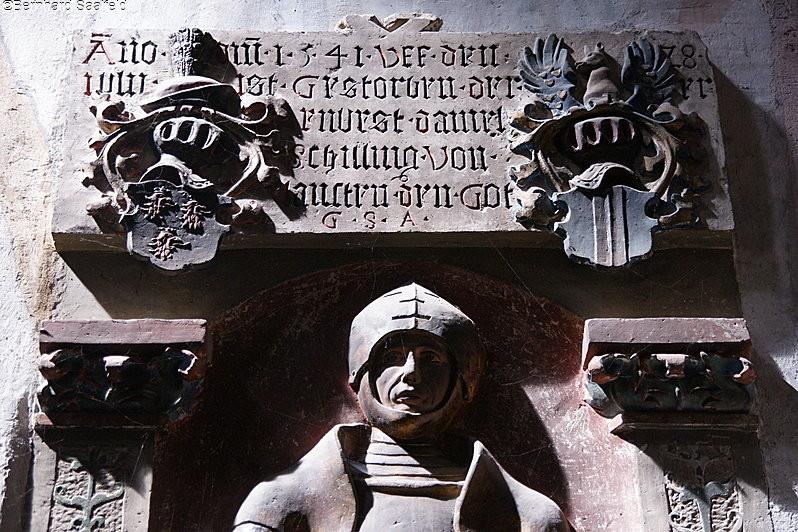 Grabplatte - Bernhard Saalfeld