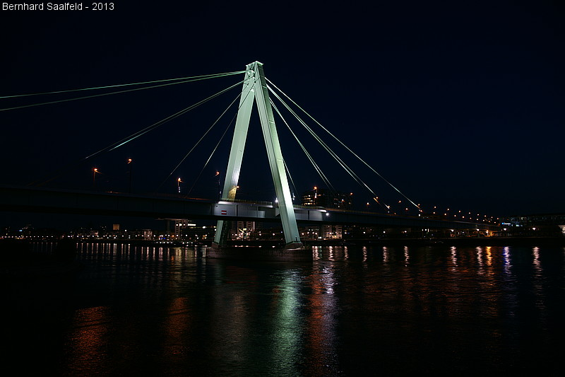 Severinsbrücke Köln - Bernhard Saalfeld