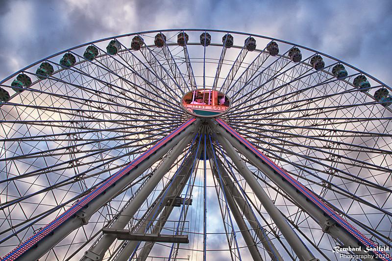 Ferris wheel at Cologne - Bernhard Saalfeld