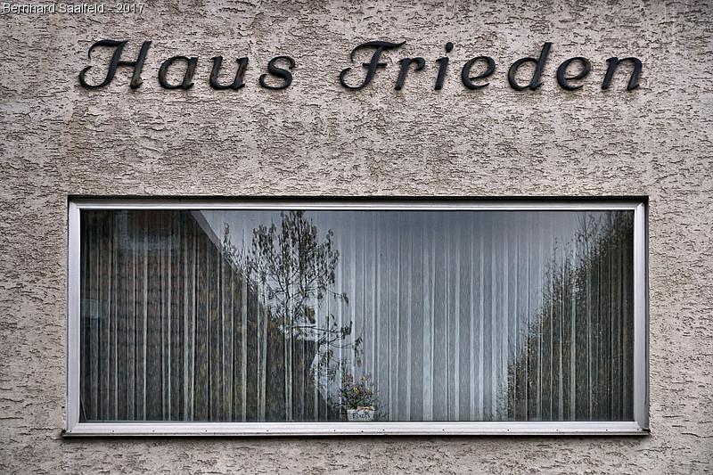 Haus Frieden - Bernhard Saalfeld