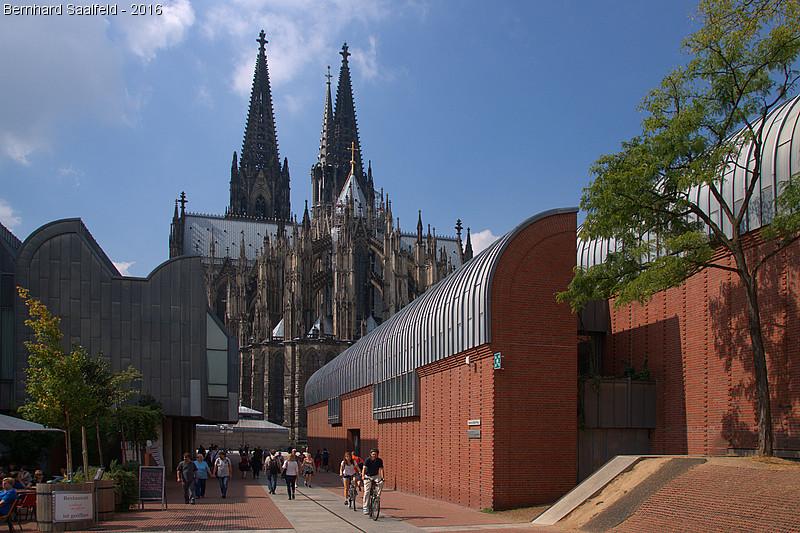Sommer in Köln - Bernhard Saalfeld