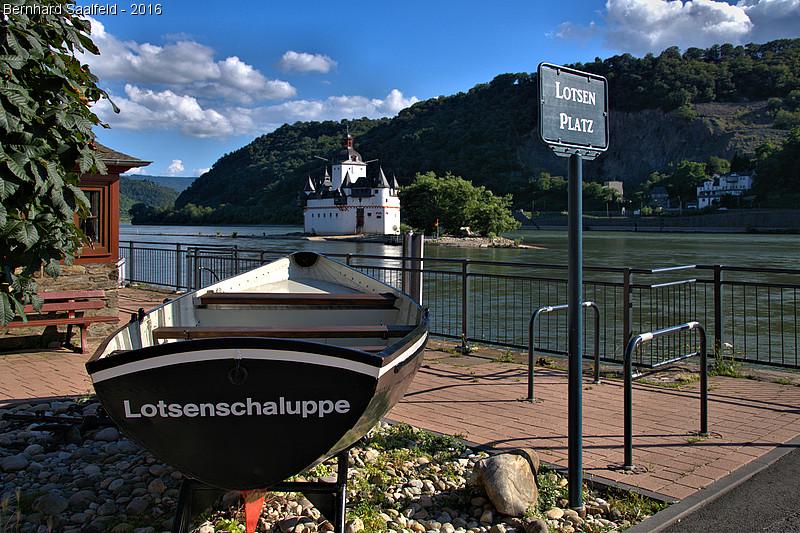 Lotsenschaluppe - Bernhard Saalfeld